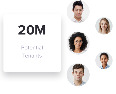 Reach Millions of Renters with One Click