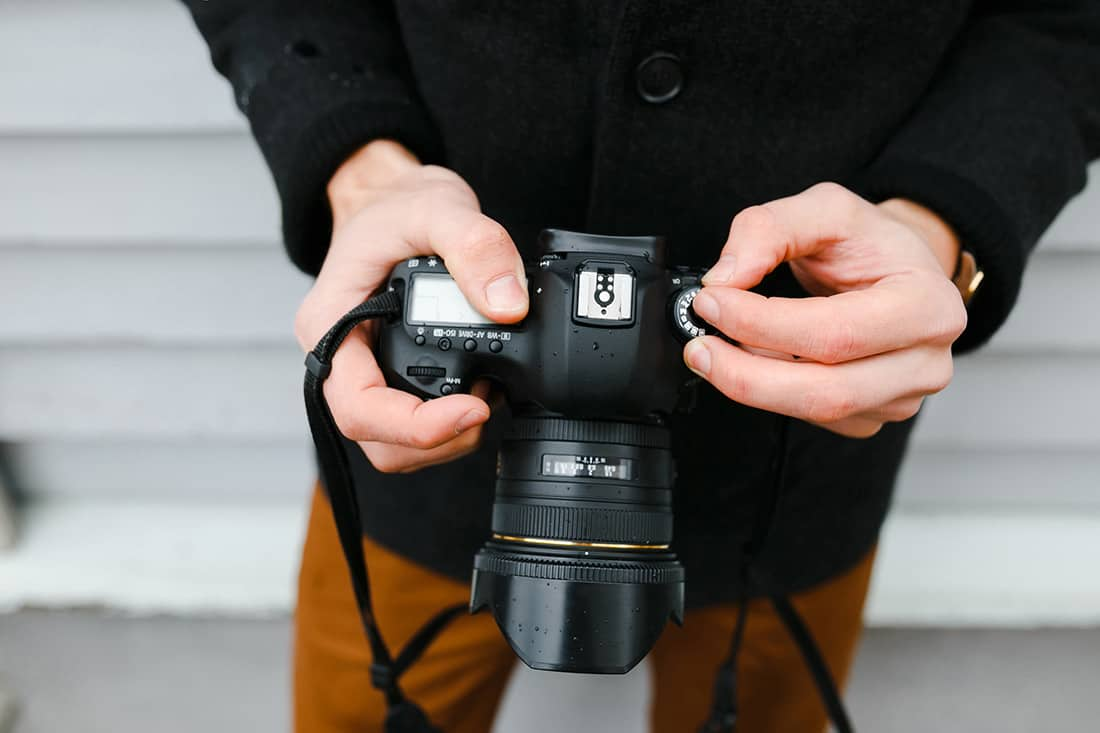 Real estate photography settings