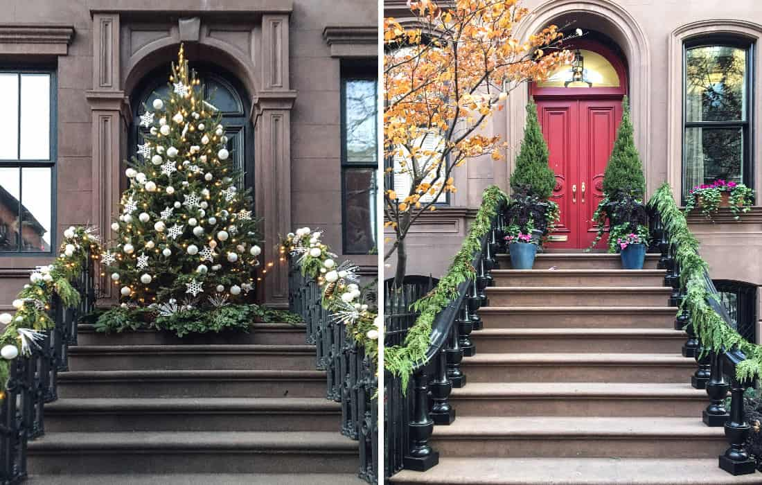 however there is a history behind everything and christmas decorations are not an exception our lovely habit of decorating front doors dates back to the