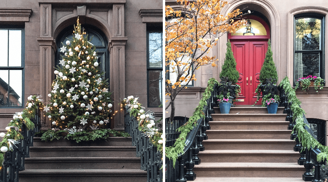 merry xmas from rentberry - New York Christmas Decorations