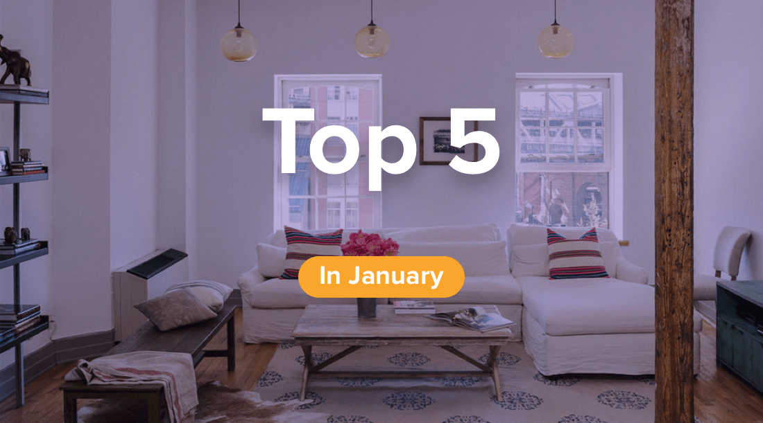 top 5 properties for rent in new york city in january