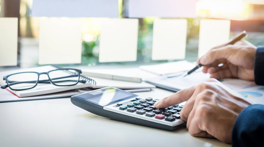 Easy way to calculate prorated rent