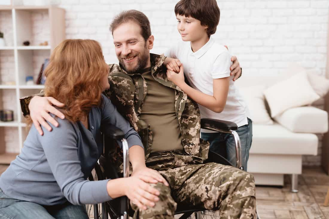 Veterans get their benefits too