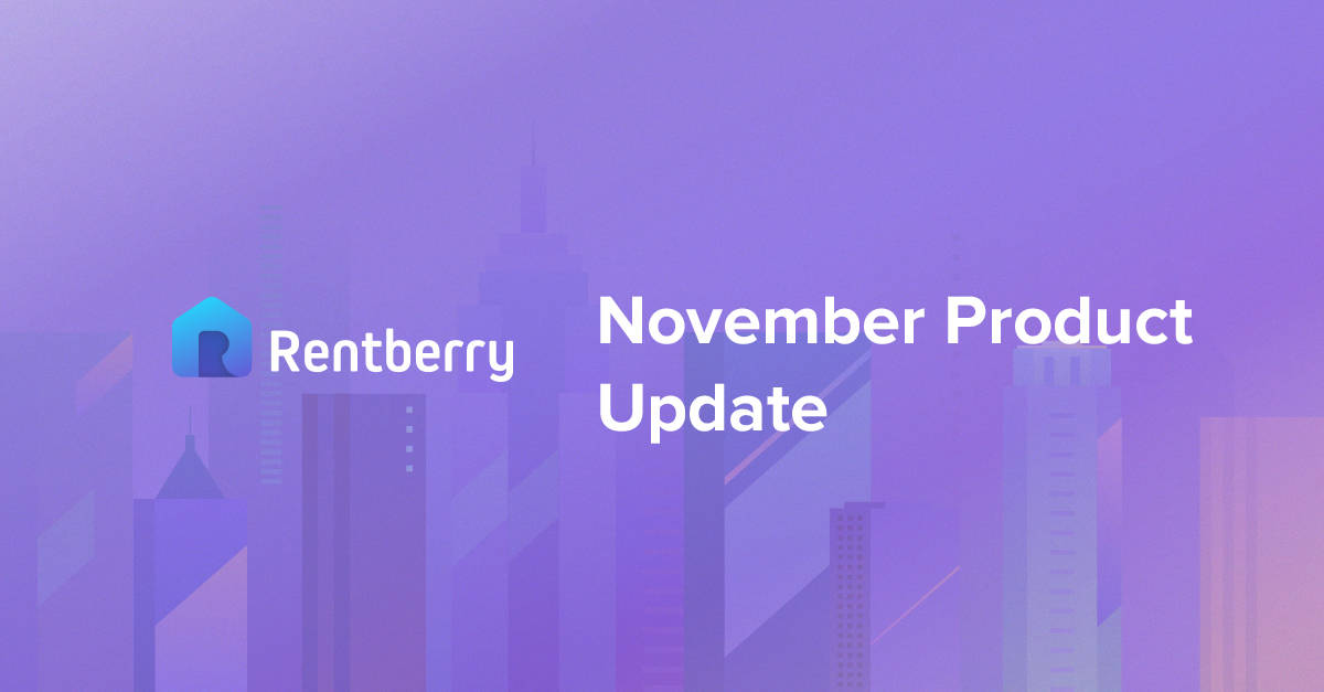 Rentberry Product Update