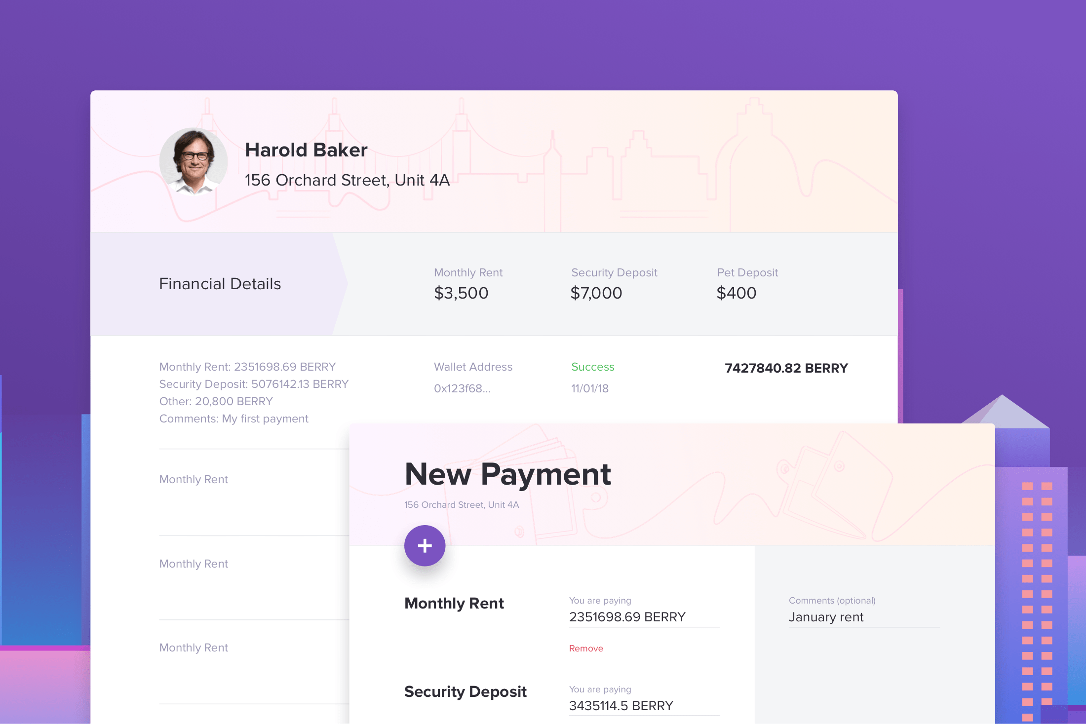 New Berry Payment