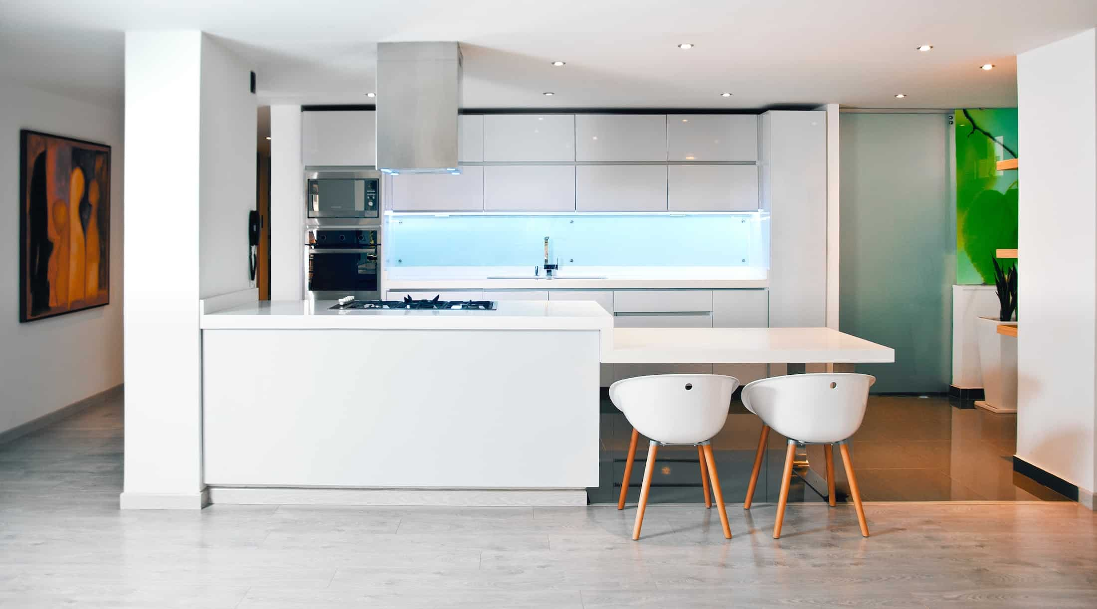 Improve rental kitchen