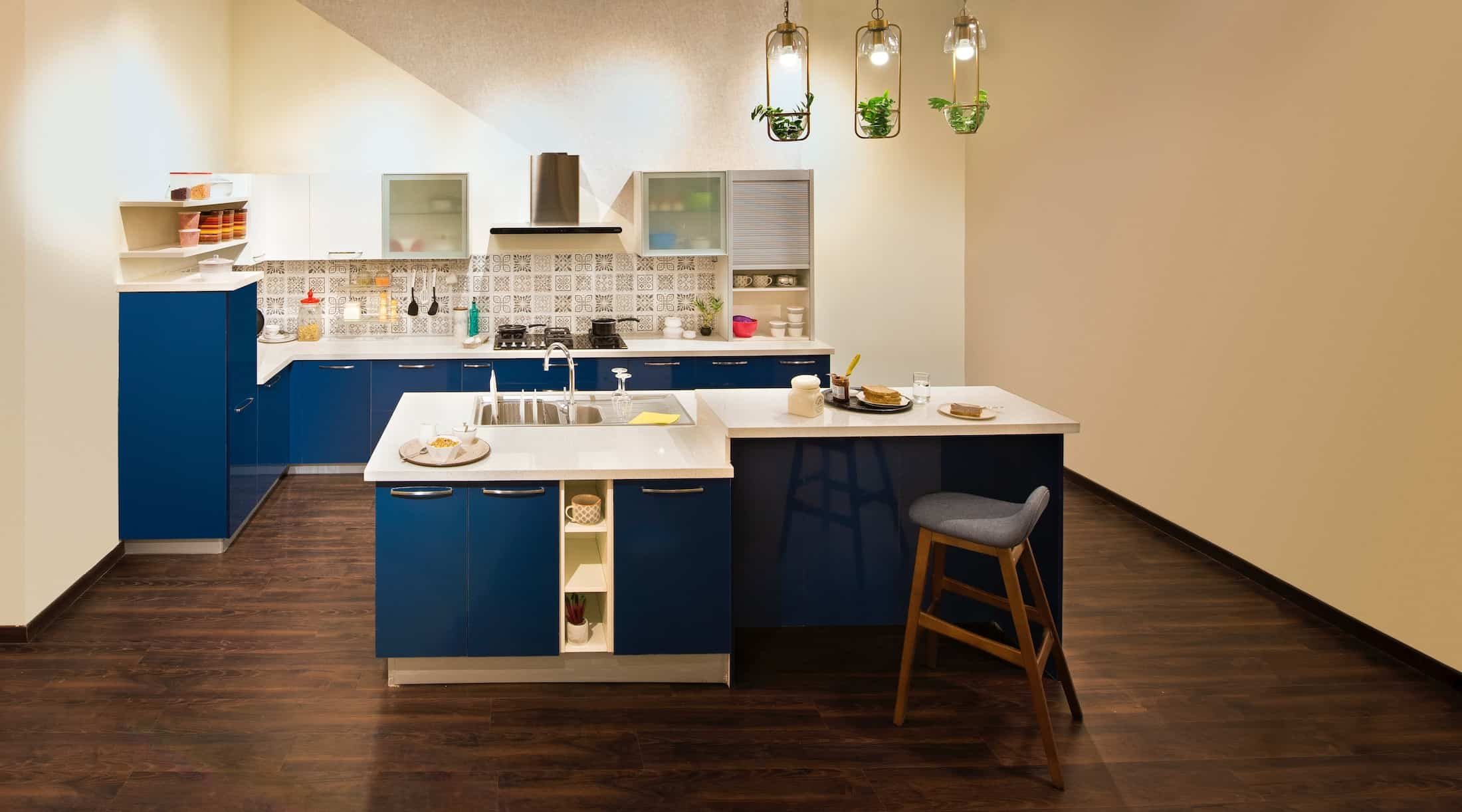Change kitchen lighting