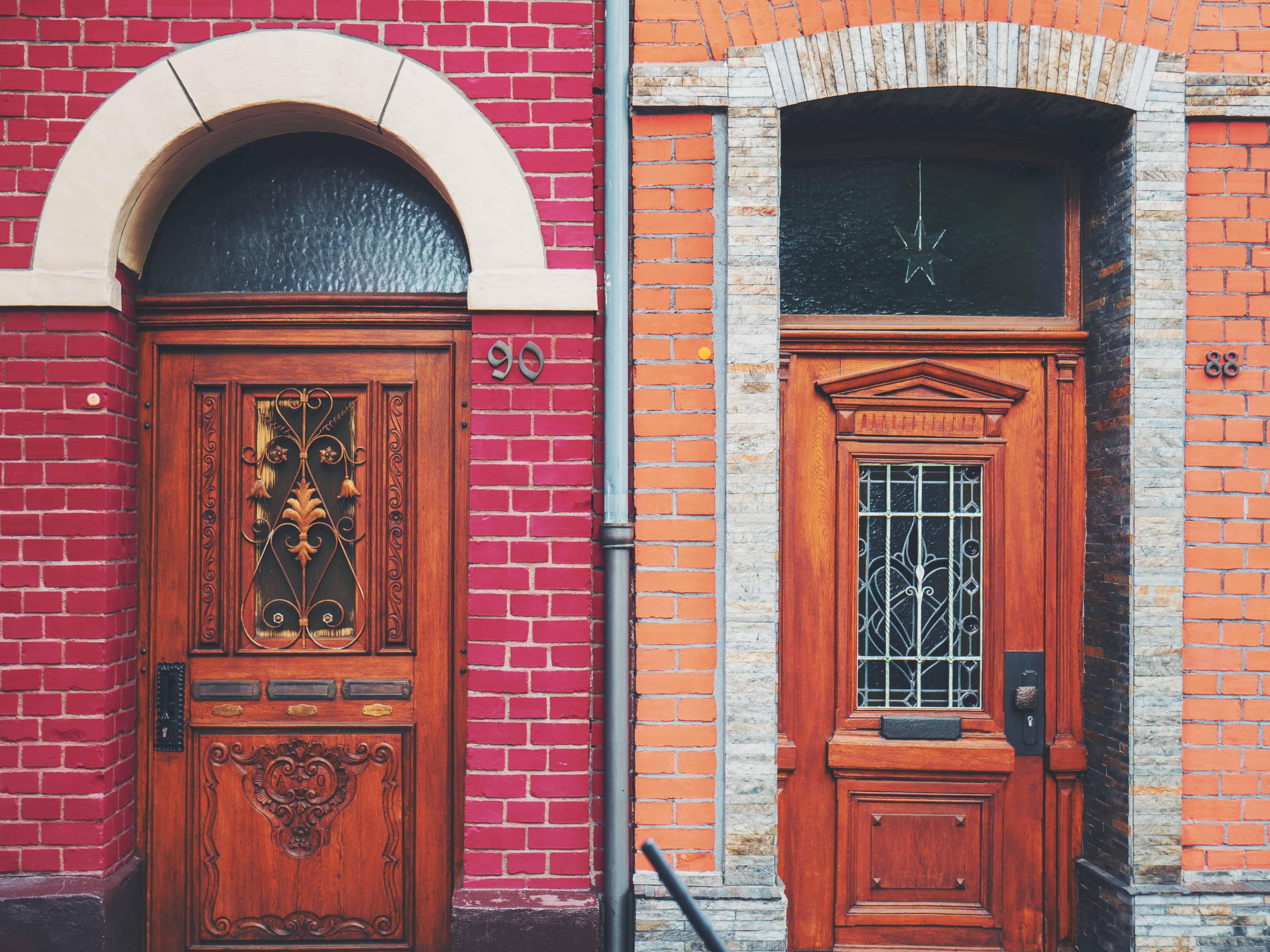 Two front-doors